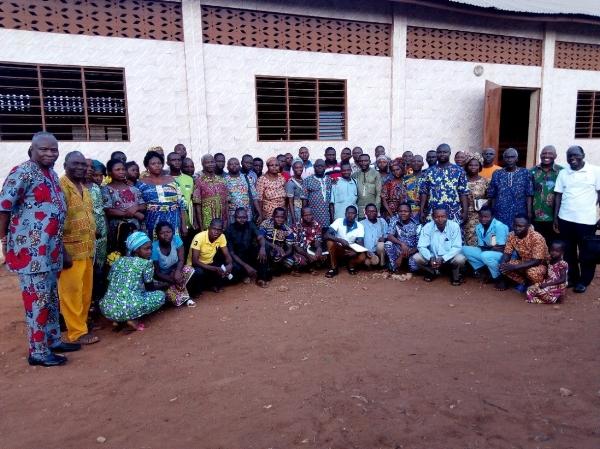 Participants in Klouékanmè Training – Benin