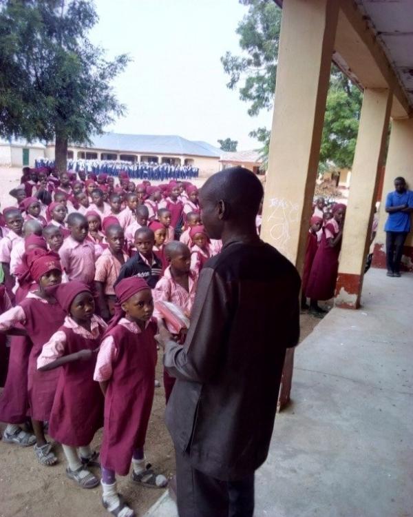 School Assembly – Kaduna State, Nigeria