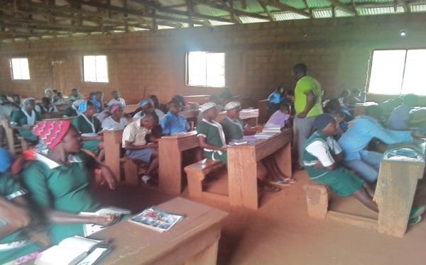 School Rally - Benue State, Nigeria