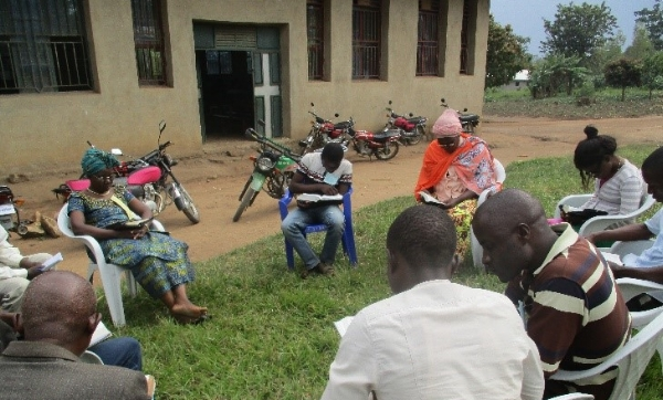 Bible Study Group at Camp - Congo DR