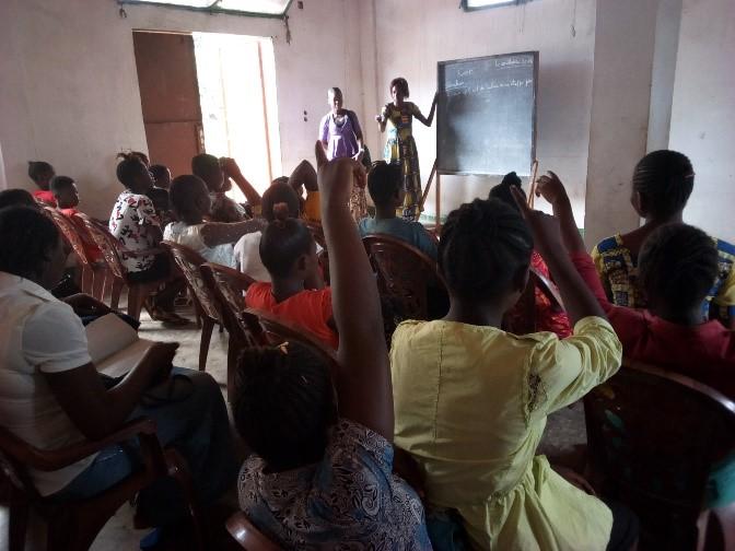 Class in Session – BAMATU Centre, Congo DR