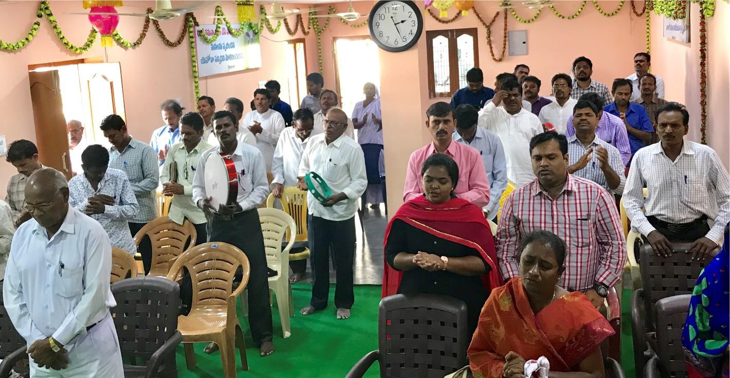Missionaries at Conference Remembering Recent Martyrs - India