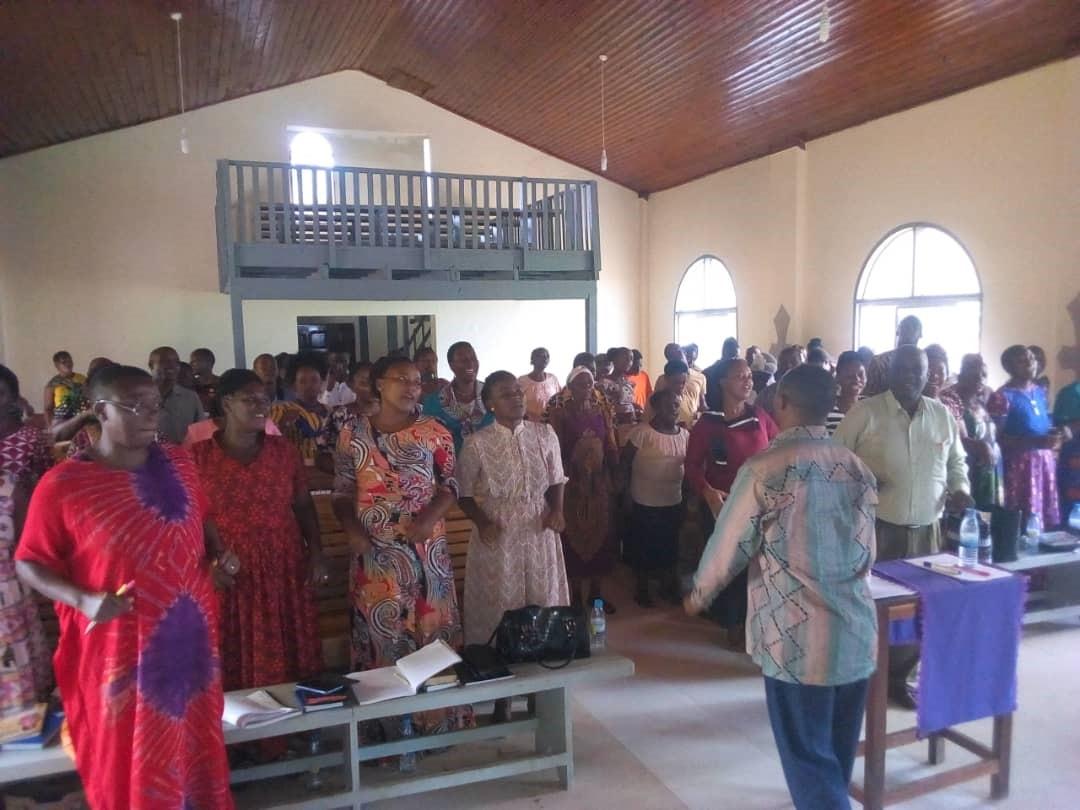 Worship Time at the Teachers' Seminar - Tanzania