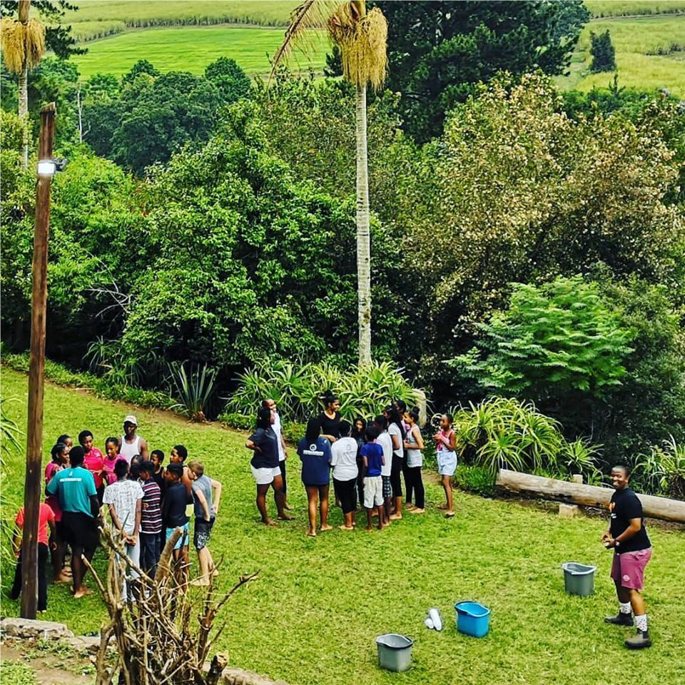Games at Camp – South Africa