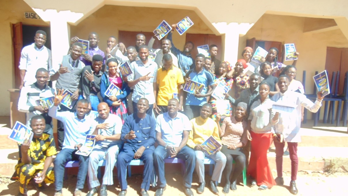 Participants at Refresher Training – Sokoto, Nigeria