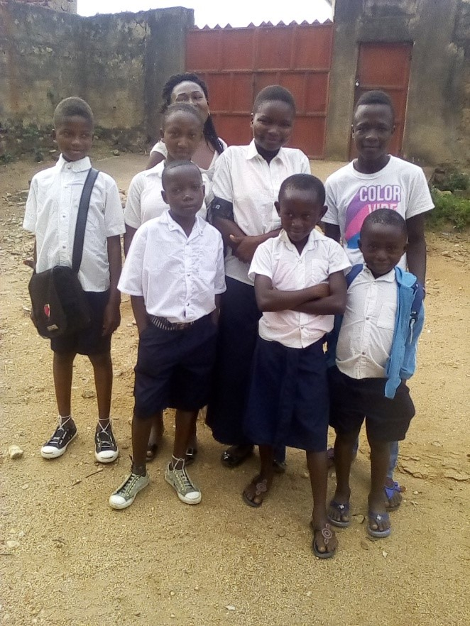 Some of the Orphans Ready for School – Beni Orphanage