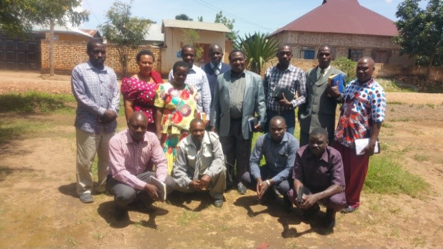 Members of Songwe Local Committee - Tanzania