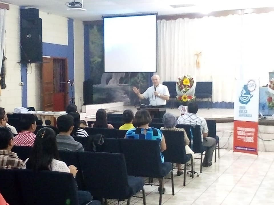 Training in Malacatan, Guatemala