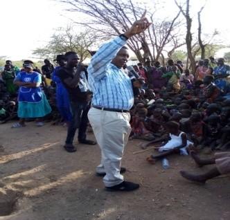 Open-Air Preaching – South Sudan