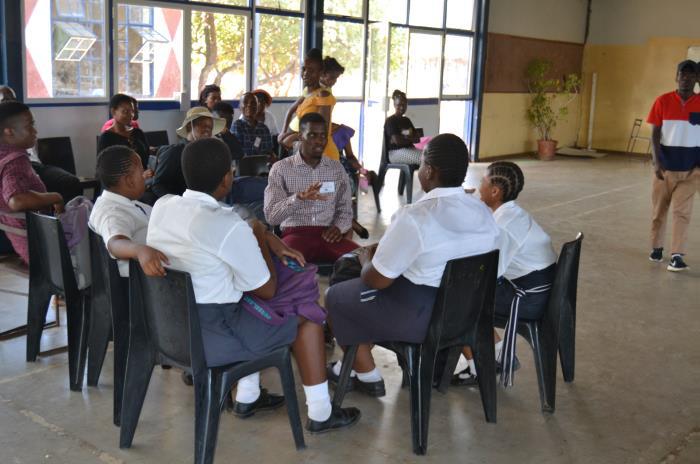 Group Session – Moaka School, Botswana