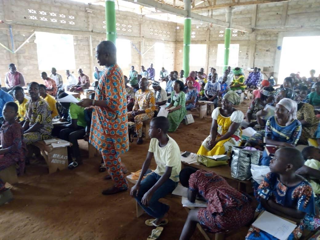 BRP at Assemblies of God Church, Adjarra, Benin