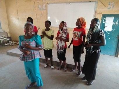 Leading Worship at the Retreat – Yola, Nigeria