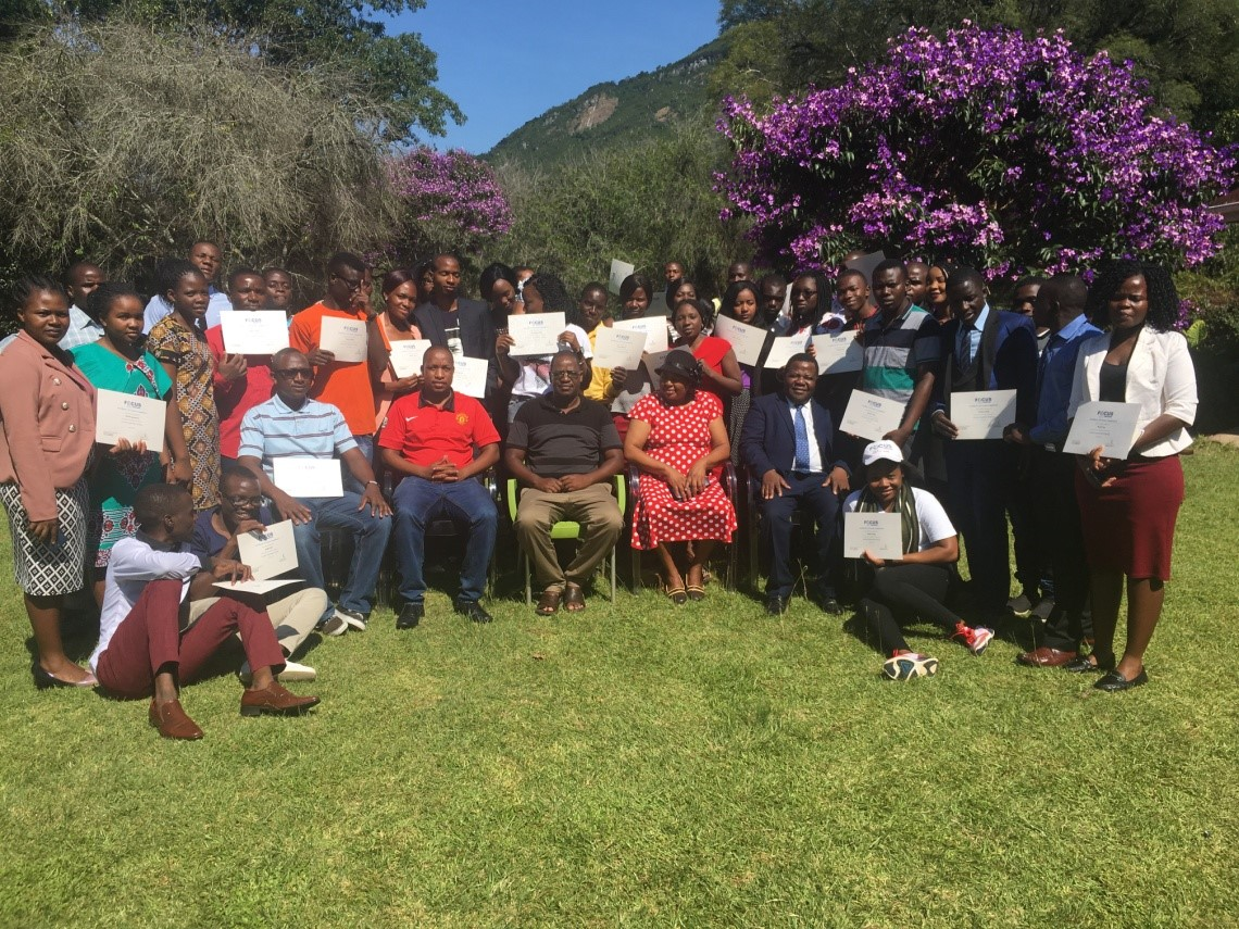 Inductive Bible Study Training Participants - Zimbabwe