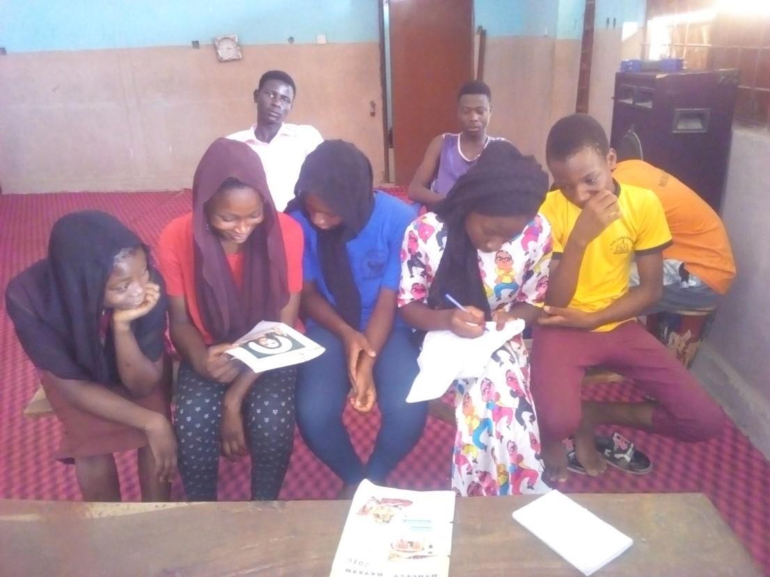 Some Bible Club Members – Nigeria