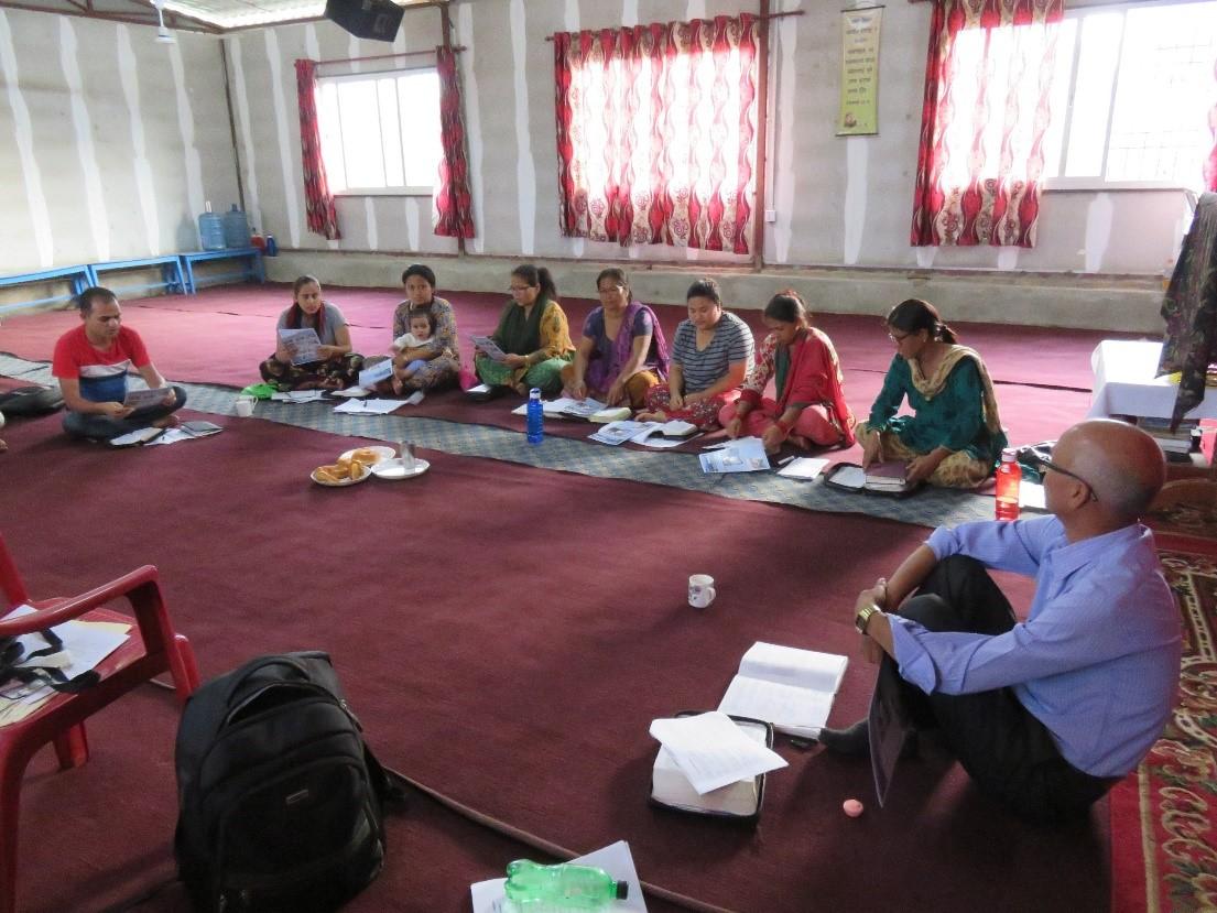 Inductive Bible Study – Nepal