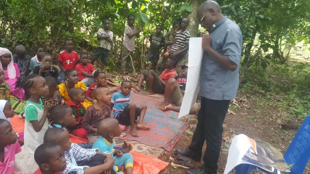 Sharing the Good News in Dunga – Tanzania