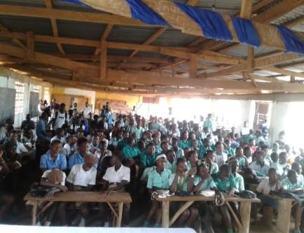 Grafton School Bible Club Launching – Sierra Leone