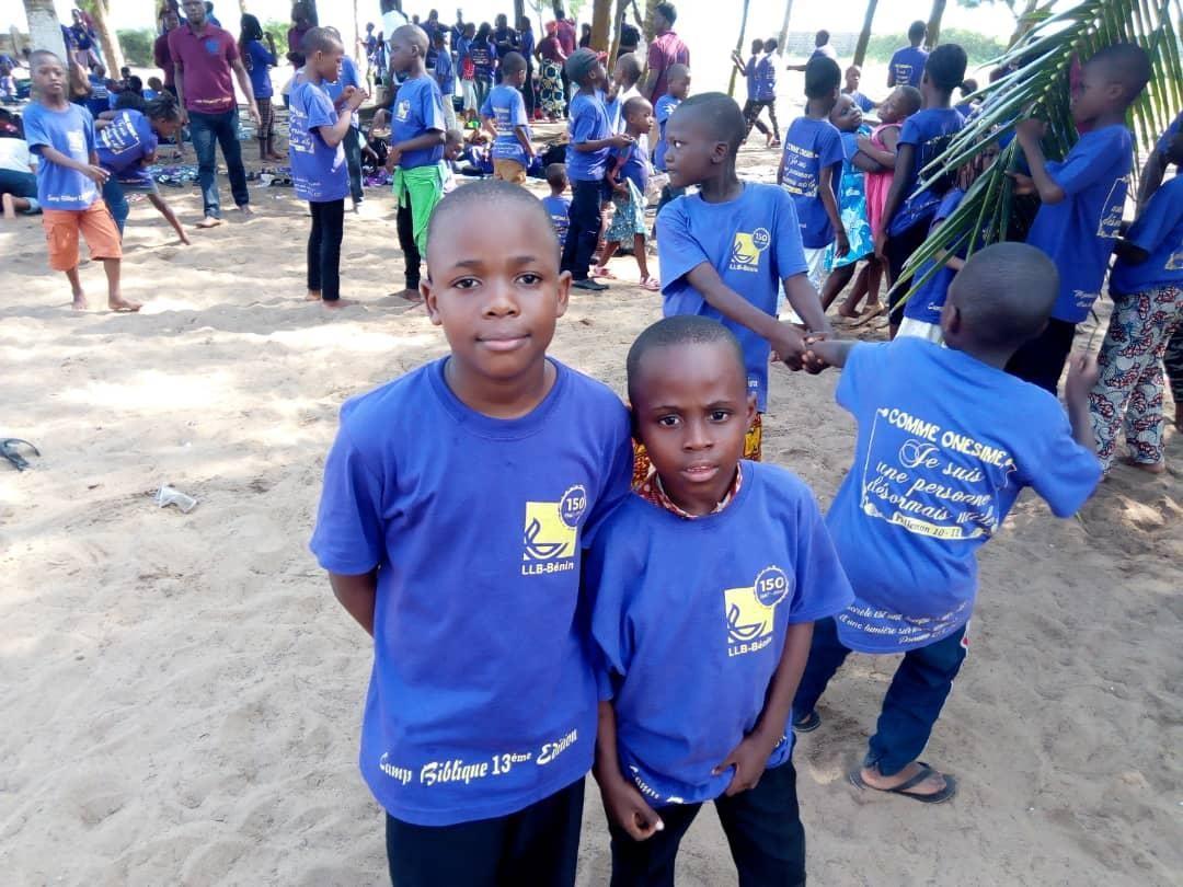Children at Camp – Benin