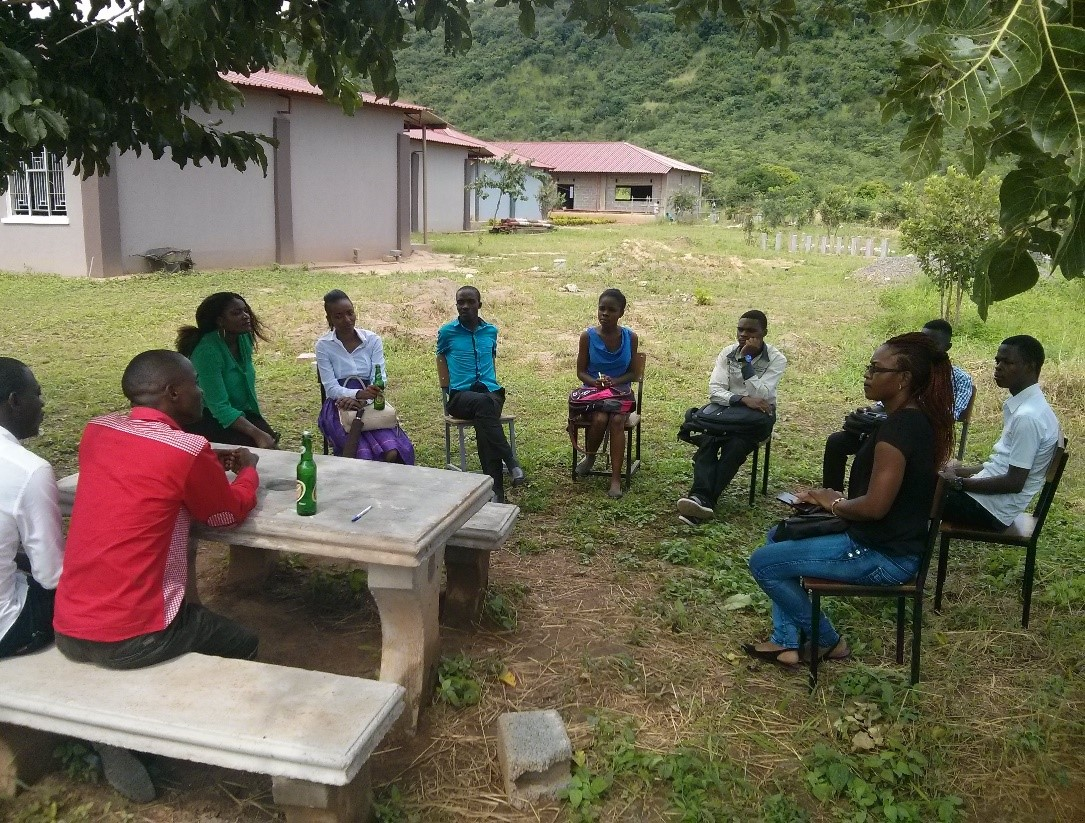 Group Discussion, Student Training – Zambia