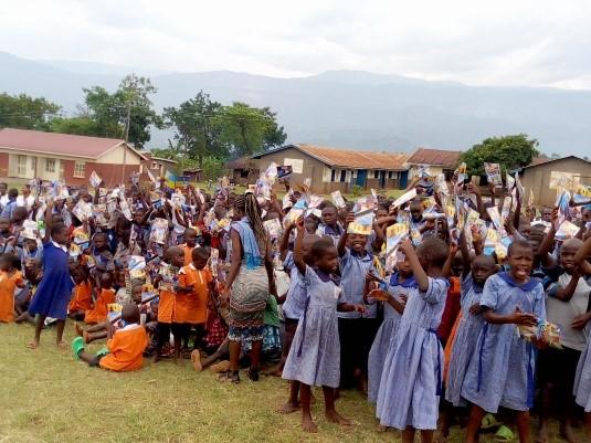 Ministering to Children in a Primary School - Uganda