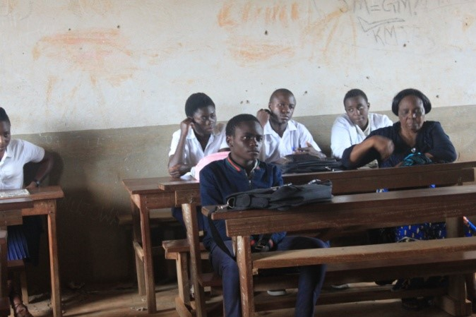 Life-skills Club, Mukulya School – Congo DR