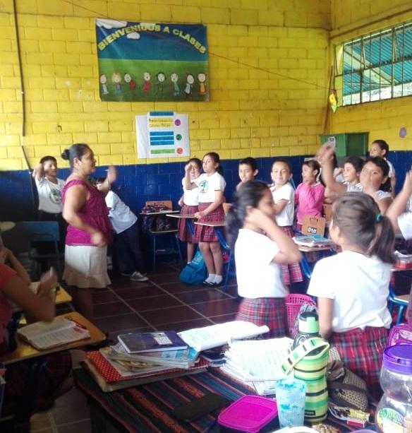 Bible Club in Session - Guatemala