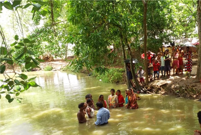 Baptism - India