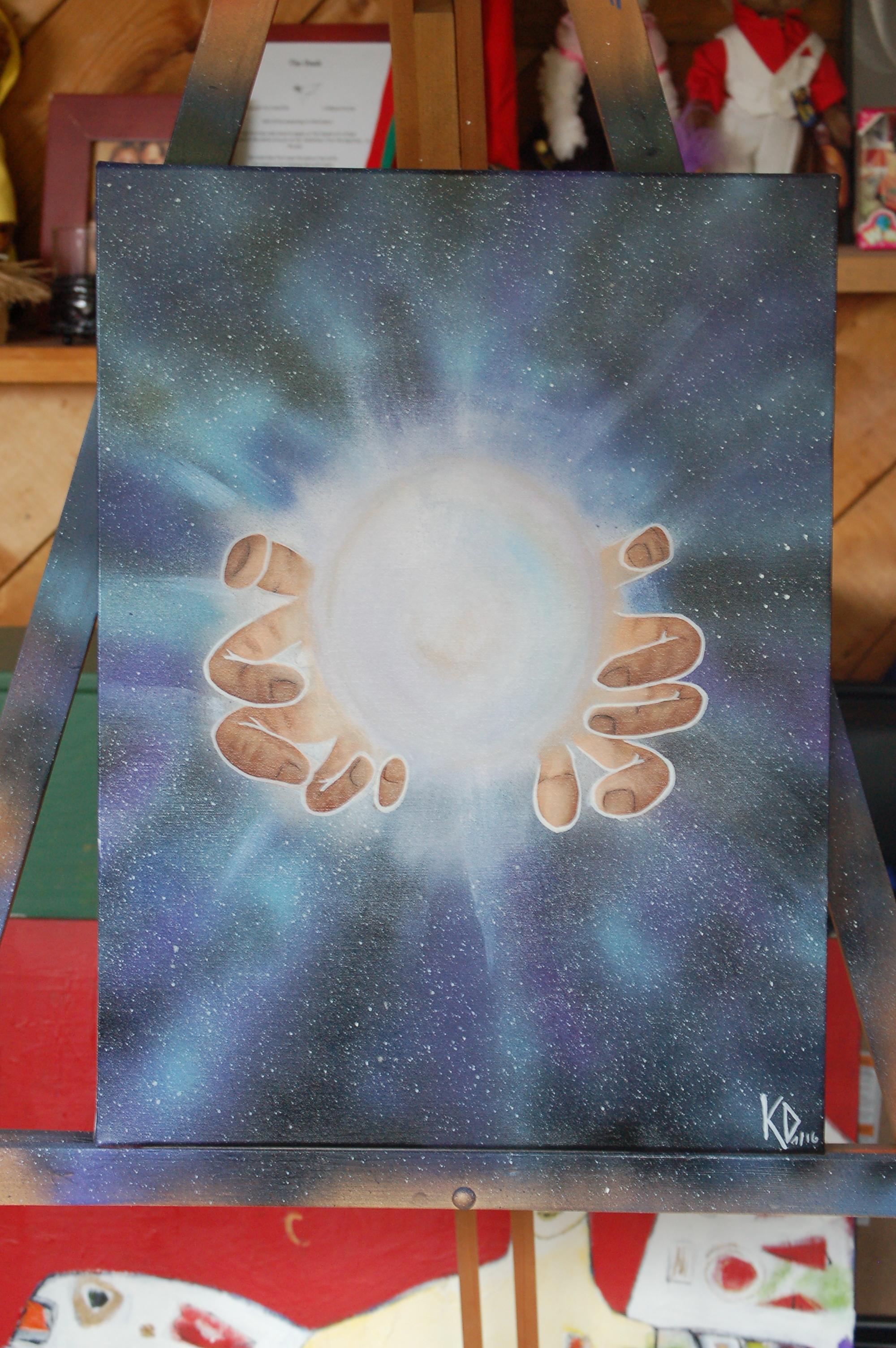 """""""Healing Hands"""" - Original SOLD"""