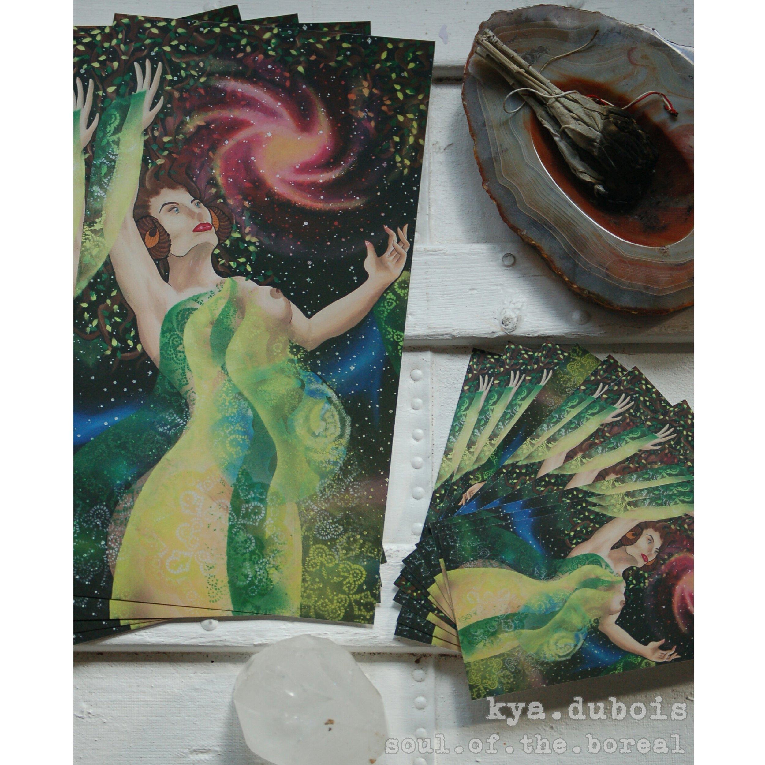 """Mother, Gaia"" - Prints $5/$10"