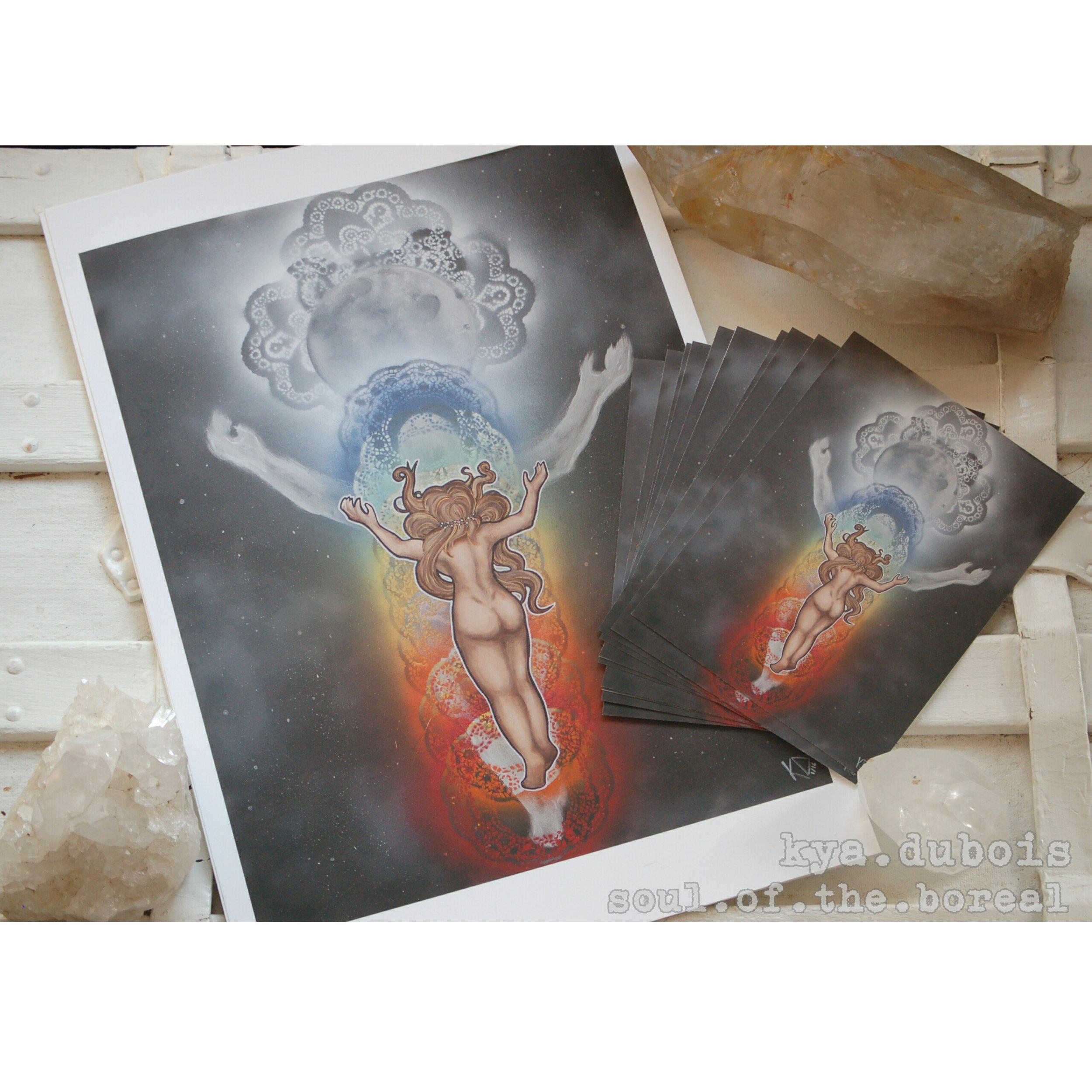 """The Energetic Body"" - Prints $5/$25"