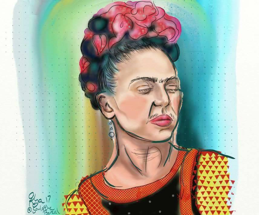 """Rainbow Frida"" - Prints $10"