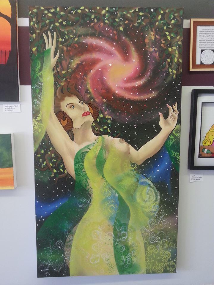 """""""Mother, Gaia"""" - Original $250"""