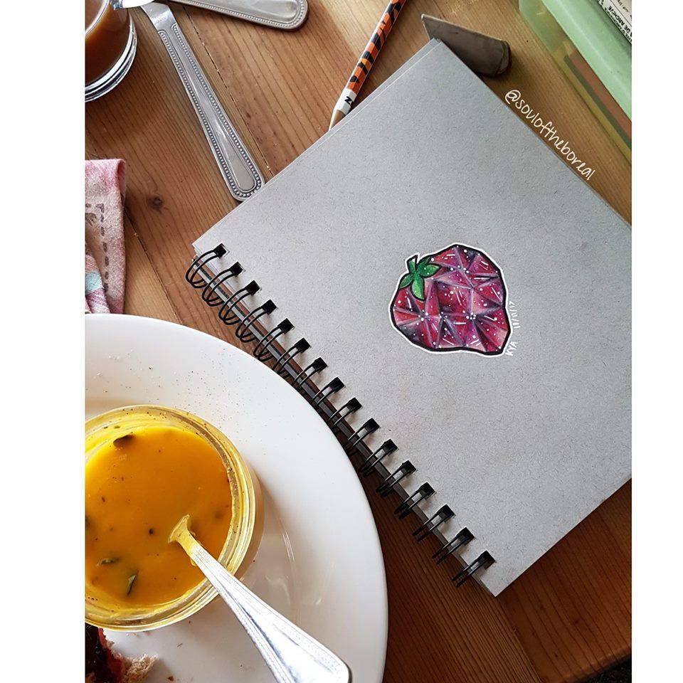 """Crystal Strawberry"""