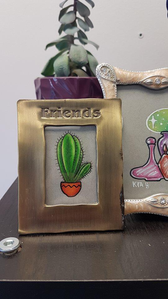 """""""Cactus Friend"""" - Original $10"""