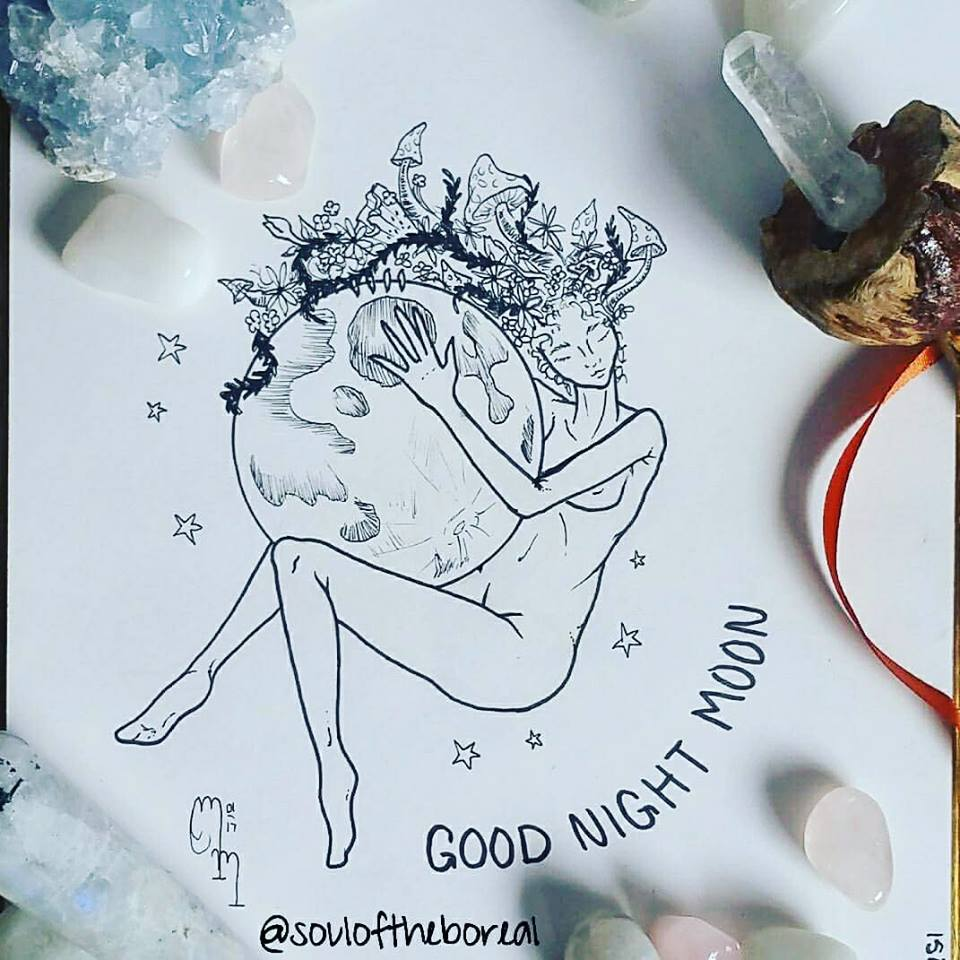 """Good Night Moon"" - Prints $10"