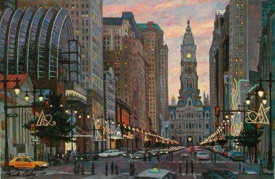 """""""Avenue of the Arts"""" 48 x 72"""" (sold)"""