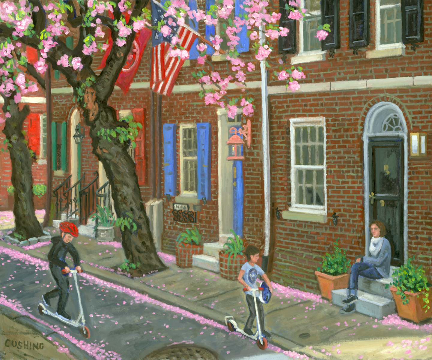 """Waverly Street""  20 x 30"" (sold)"