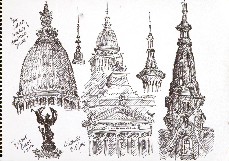 """""""Sketchbook Studies #1"""" (sold)"""