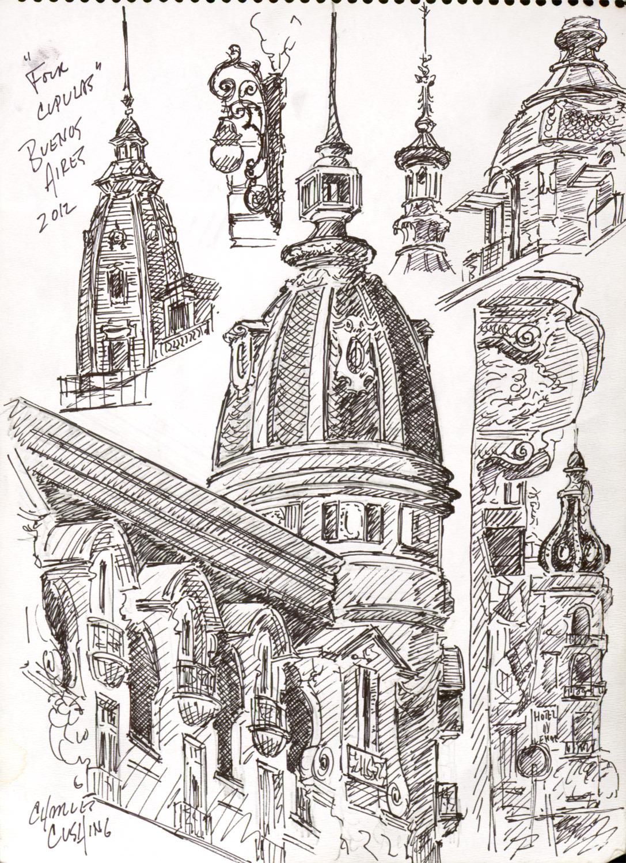 """""""Sketchbook Studies #2""""  (sold)"""