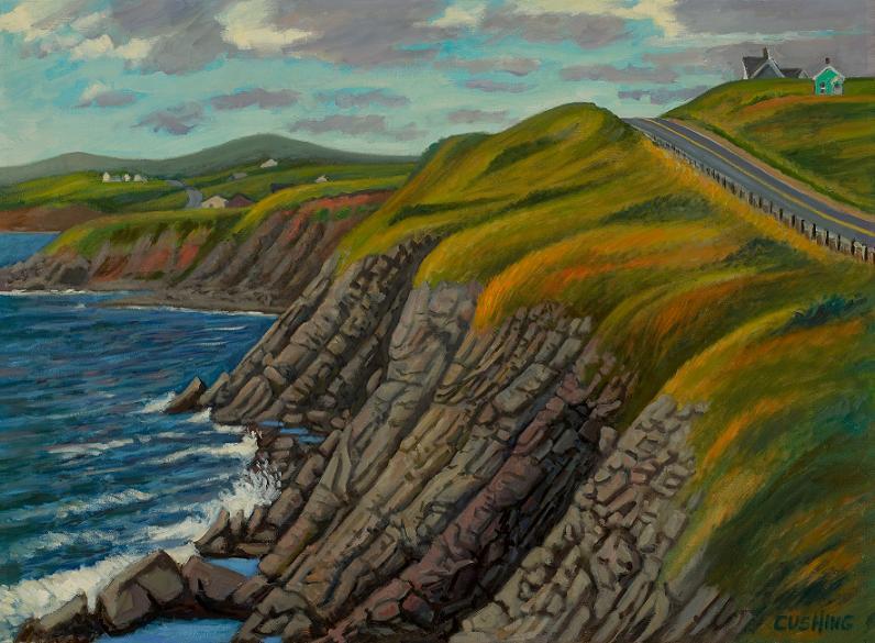 """Coastline, Cape Breton, Nova Scotia"" 20 x 30"" (sold)"