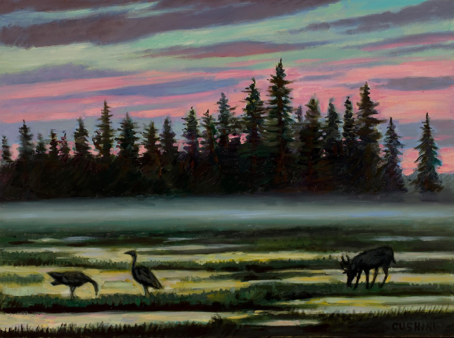 """Mist at Midnight""  18 x 24"" (sold)"