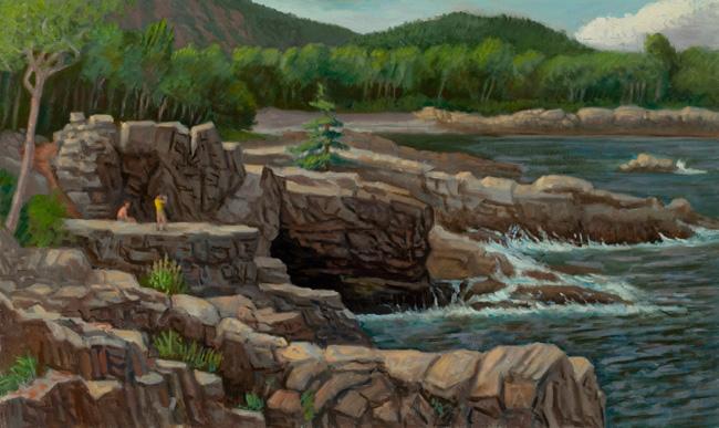 """""""Acadia National Park""""  20 x 32""""  $2500.00"""
