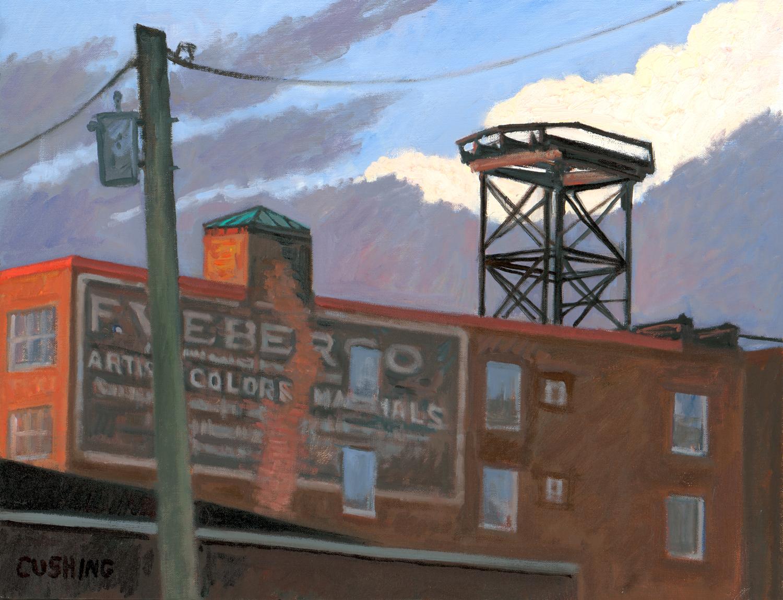 """Weber's Artist's Colors"" 16 x 30""  (sold)"