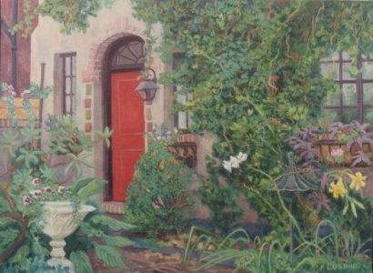 """Cletus's Garden""  24 x 30"" (sold)"