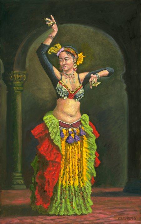 """""""Teressa as Dancer""""  50 x 30""""  (sold)"""