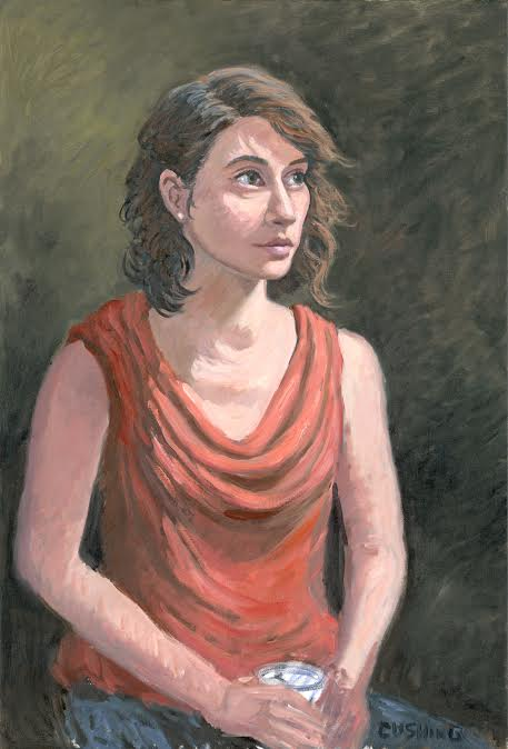 """Portrait of Galina""  31 x 21"" (price on request)."