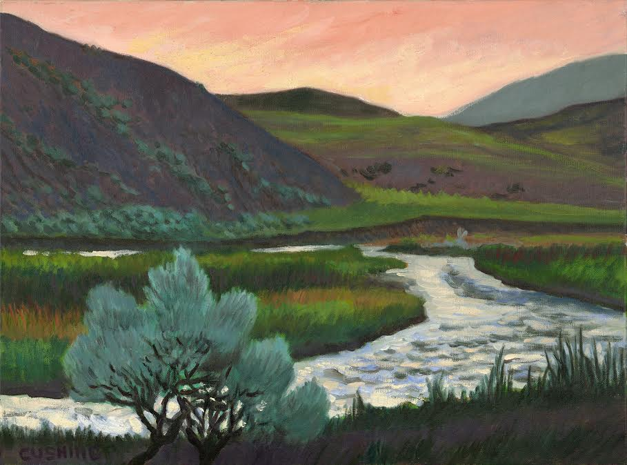 """river, Yellowstone Park""  18 x 20""  $1250.00"