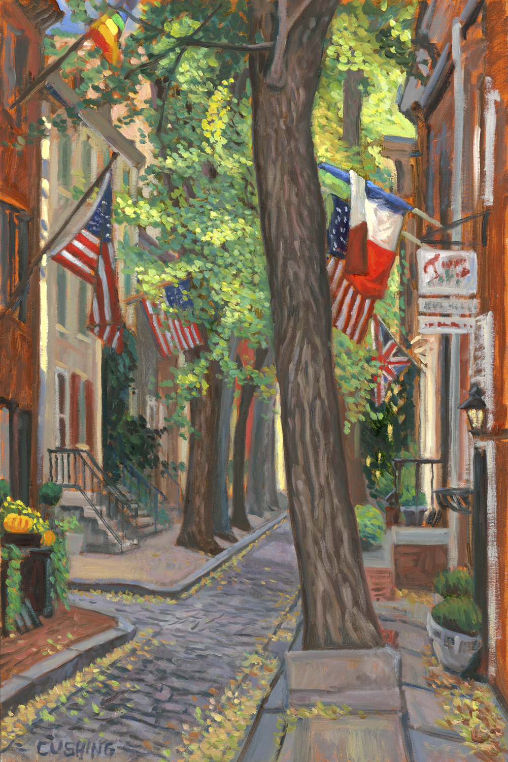 """""""Autumn, Quince Street""""   x 20""""  (sold)"""