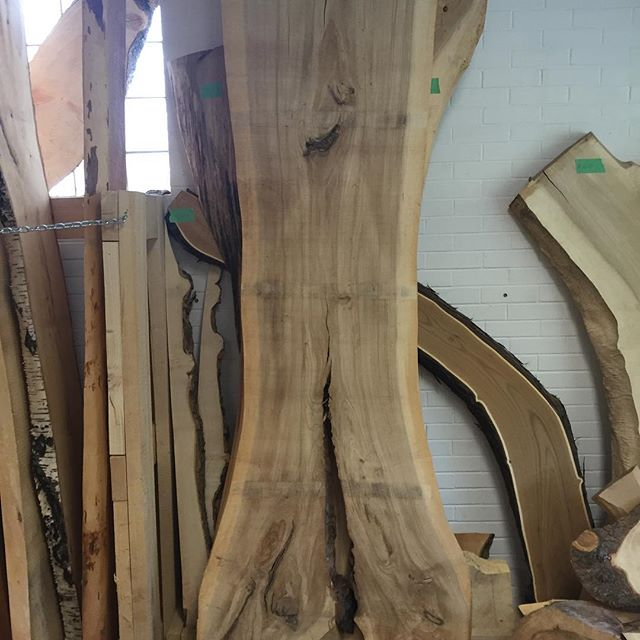 We just brought a bunch of new slabs into the Relic showroom this week. We have well over a hundred unique slabs to chose from. If you have not checked out this space yet it may be time. #urbanlogsalvage #bandsawmill #liveedgeslabs #yegwoodworkers #savethetrees #lovemyjob