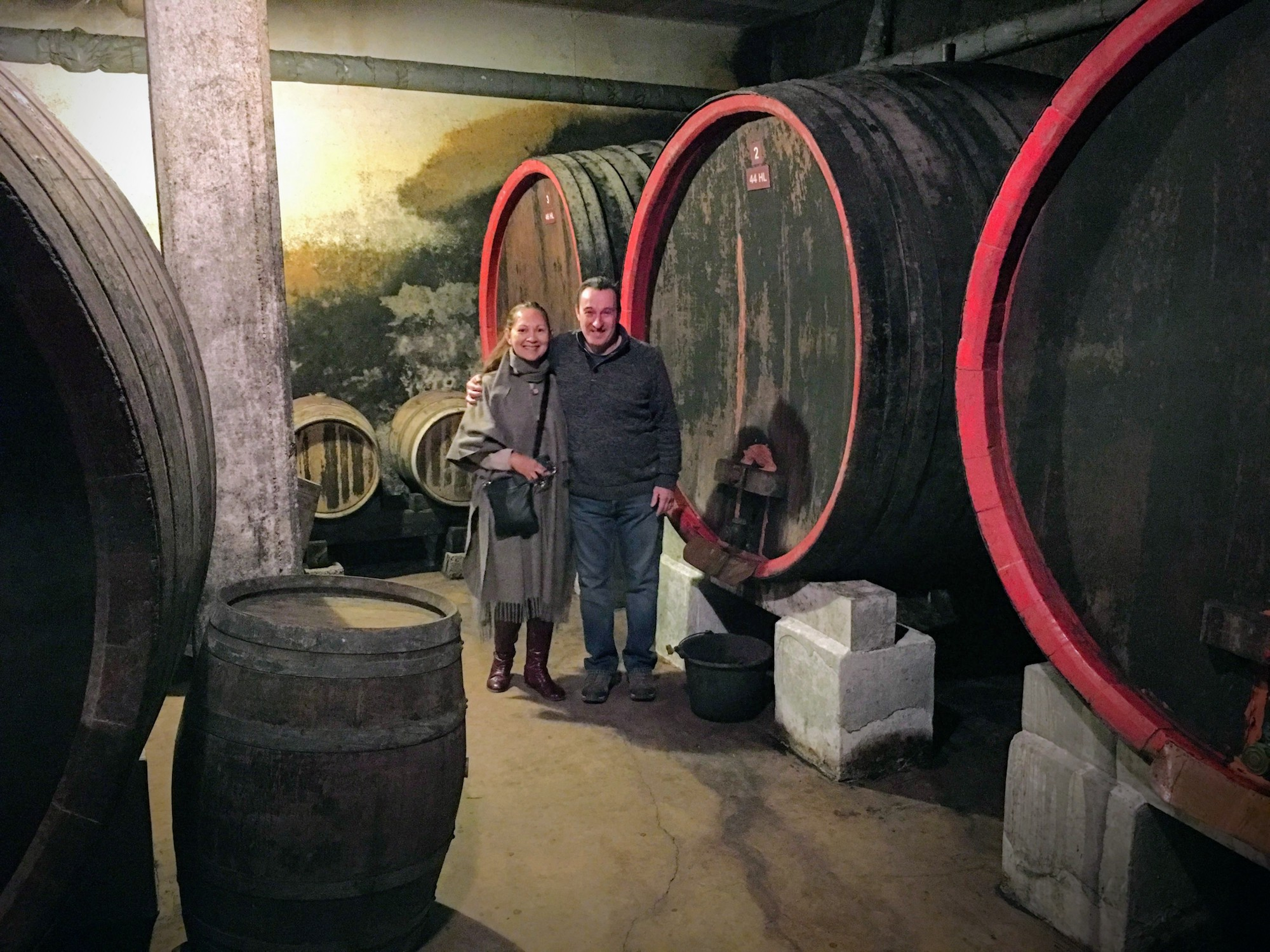 Châteauneuf-du-Pape star Jean Paul Versino is a third-generation wine-maker and a wonderful guy.